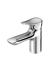 Beautiful modern designed of chrome faucet for hot and cold water