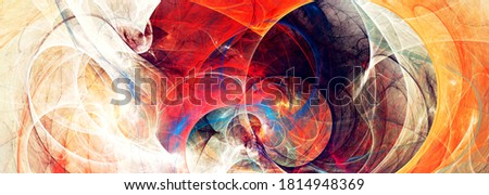 Beautiful modern fractal. Bright background  for creative graphic design. Abstract banner. Fractal artwork for creative graphic design Foto stock ©