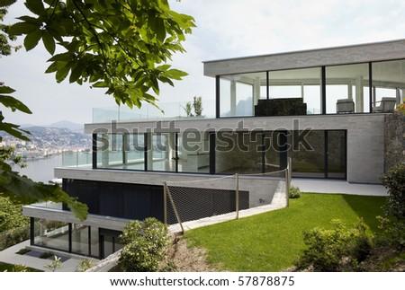 beautiful modern house
