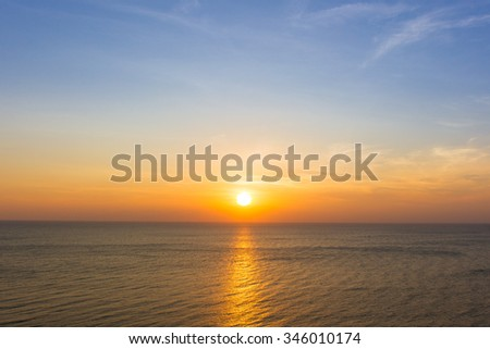 Beautiful morning sun light. #346010174