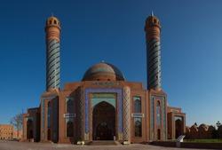 Beautiful mosque in Ganja city in Azerbaijan