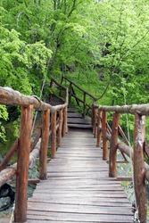 Beautiful mountain bridge in Bulgaria