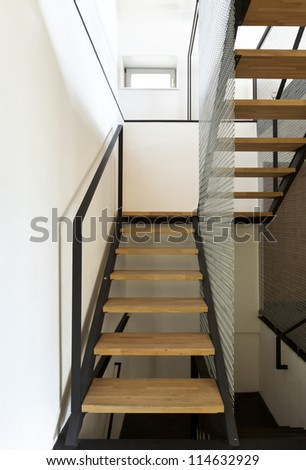beautiful mountain home, staircase
