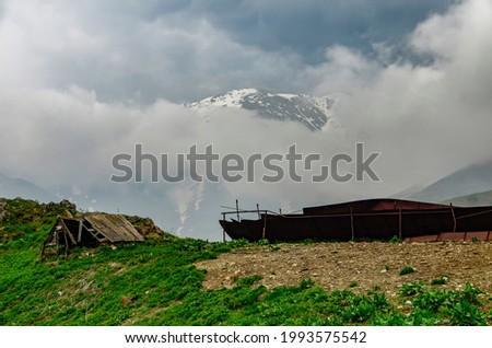 beautiful mountain landscape in Armenia