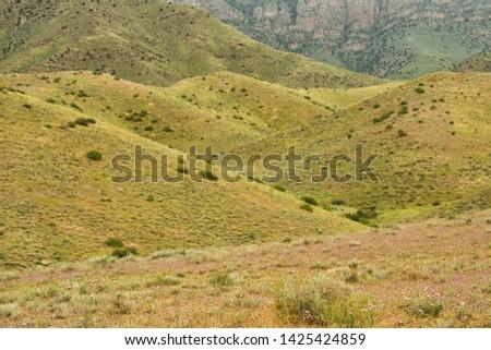 Beautiful mountain pastures in Armenia #1425424859