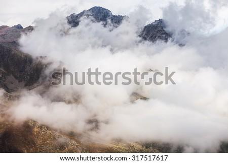 Beautiful mountain scenery in Kackar,Turkey. #317517617