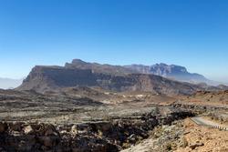 Beautiful mountains of jebel shams oman