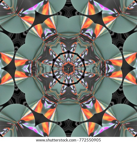 Beautiful multicolor kaleidoscope   #772550905