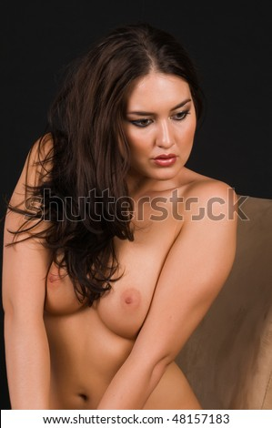 stock photo beautiful native american brunette nude over black 48157183 Many sites like jumpdates offer free adult dating and messaging services ...
