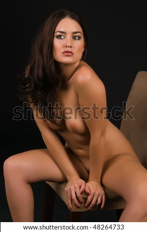 stock photo beautiful native american brunette nude over black 48264733 The hot Indian village sex have incidents in plenty to showcase its erotic ...