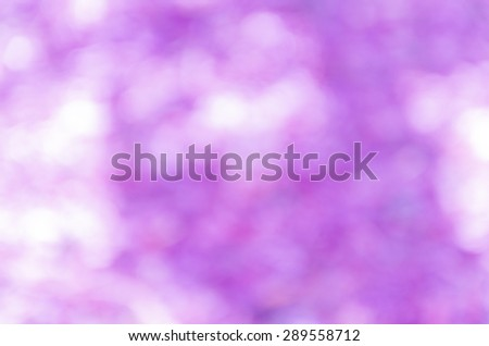 beautiful natural bokeh background and blurry focus #289558712