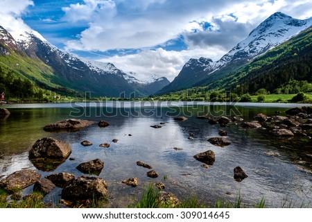beautiful nature norway natural ...
