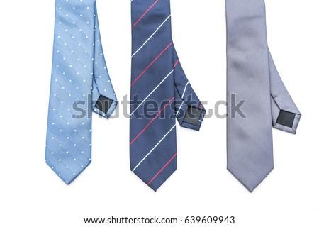 beautiful necktie isolated on white background Stock foto ©