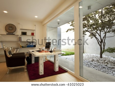 beautiful new apartment - stock photo