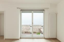 beautiful new apartment, interior, view window