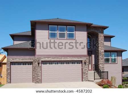 Beautiful New Home with Two-Car Garage