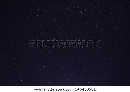 beautiful night sky #546430501