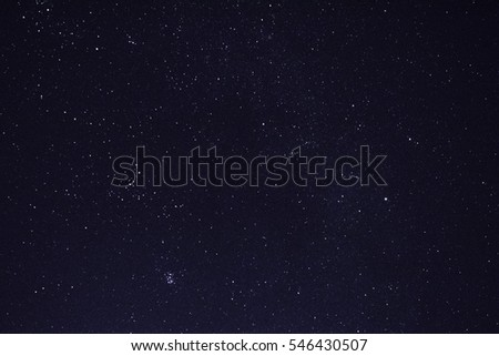 beautiful night sky #546430507