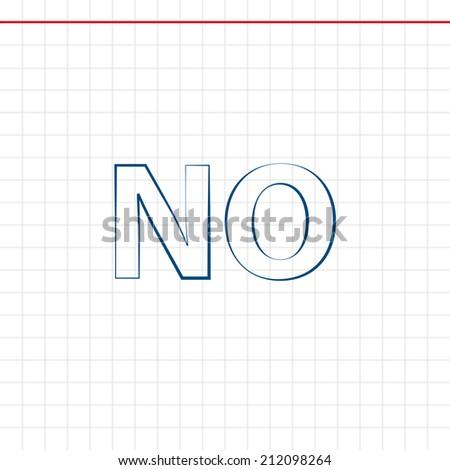 Beautiful No web icon