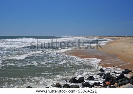 Beautiful North Carolina Beach and surf