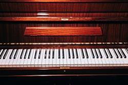 beautiful old piano