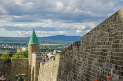 Beautiful Old Quebec City Fort