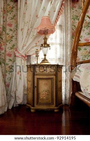 Beautiful Old Styled Interior - stock photo