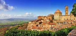 beautiful old Volterra - medieval town of Tuscany, Italy - i borghi più belli d'italia