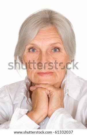 beautiful older woman