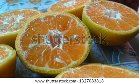 beautiful orange crushed  #1327083818
