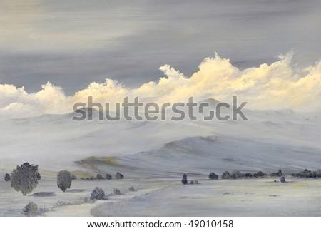 stock-photo-beautiful-original-oil-painting-of-the-sierra-nevada-mountain-range-49010458.jpg