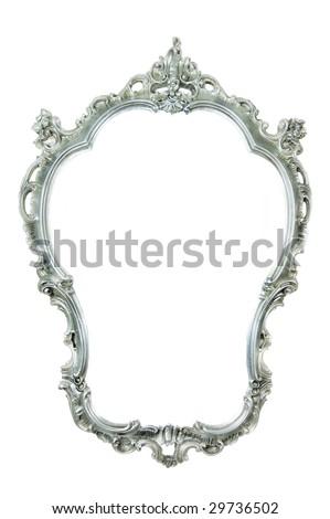 Beautiful Ornate Frame isolated