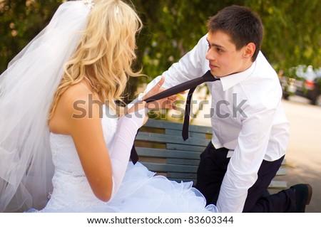 beautiful pair wedding photo