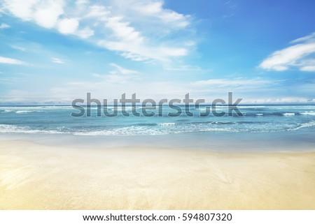 beautiful panorama of seascape...