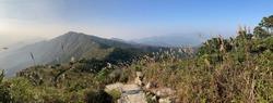 Beautiful panoramic view at Pat Sin Leng, Tai Po, Hong Kong, Asia