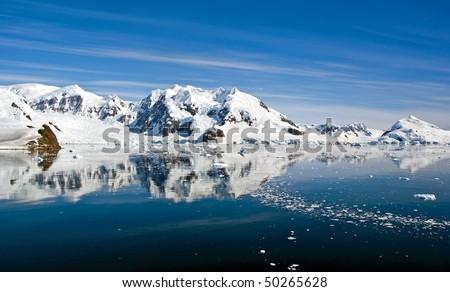 Beautiful Paradise Bay, Antarctica