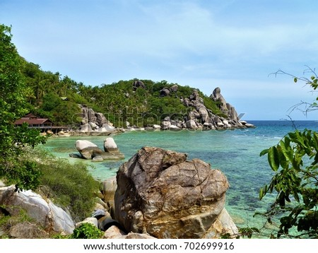 Beautiful Paradise Tropical Island, Koh Tao, Thailand #702699916