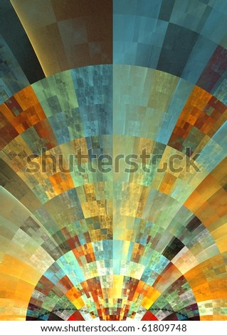 beautiful patchwork style texture