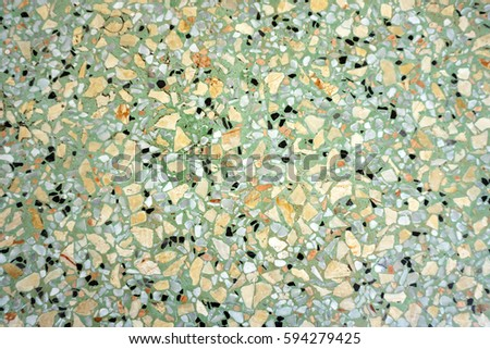 Beautiful Patternstexture And Surface Of Terrazzo Floor 594279425