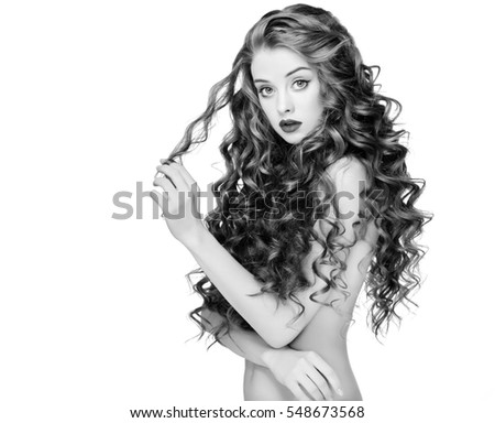 Free Photos Beautiful People Woman Curly Hair Fashion Girl With