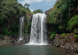 Beautiful photograph of smaller Thoseghar waterfall situated in Satara in Maharashtra state of India