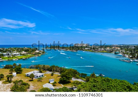 Beautiful picture of Jupiter inlet