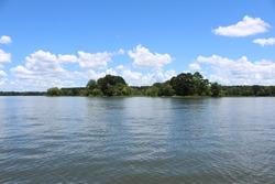 Beautiful picture on lake Logan martin in lincoln alabama