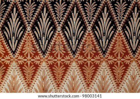 Beautiful pink batik patterns - stock photo