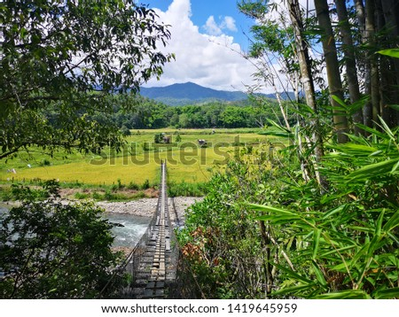 Beautiful places for vacation in the Tegudon Tourism Village,Kota Belud,Malaysia. This place is popular for recreation,swimming and water activity.  #1419645959