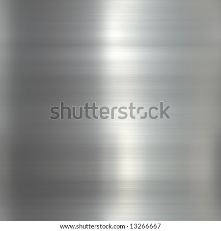 Beautiful polished stainless steel texture