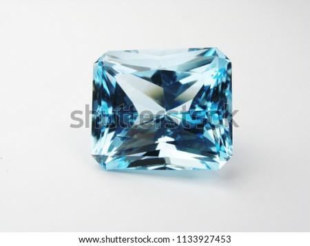 beautiful precious loose gem stone good cutting for gold fashion jewelry - Shutterstock ID 1133927453
