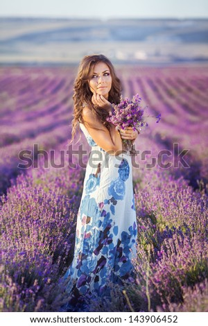 stock photo beautiful provence woman relaxing in lavender field watching on sunset holding basket with lavanda 143906452 - What Is Sugar Baby Dating?