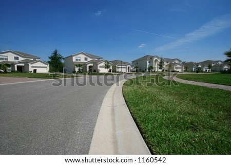 Beautiful quiet neighborhood in the suburbs