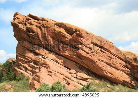 Beautiful Red Rock formation near Denver, Colorado